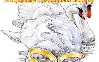 Поздравления с годовщиной свадьбы 3 года — кожаной свадьбой