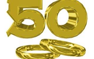 Годовщина (юбилей) свадьбы 50 лет — золотая свадьба