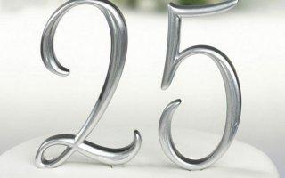 Что подарить на серебряную свадьбу родителям, мужу или жене (25 лет)