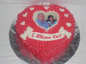Торт на годовщину родителям
