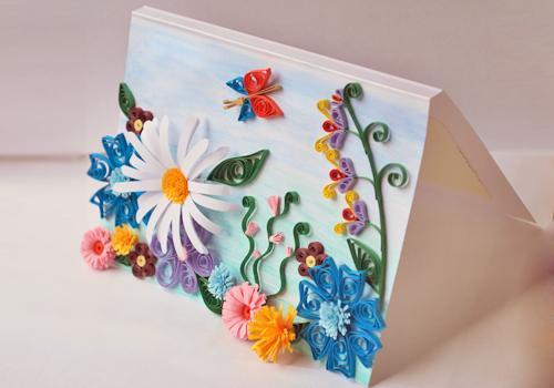 Красивые открытки для мам своими руками