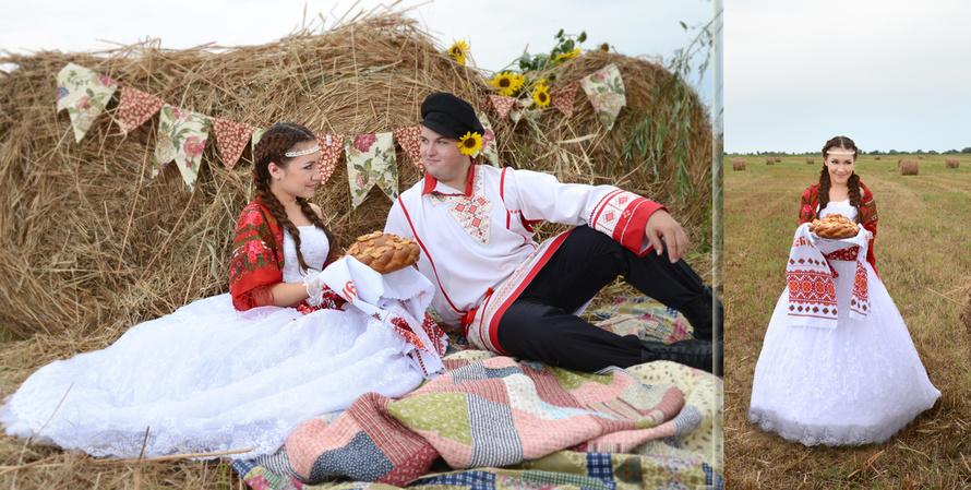 Ситцевое платье на ситцевую свадьбу