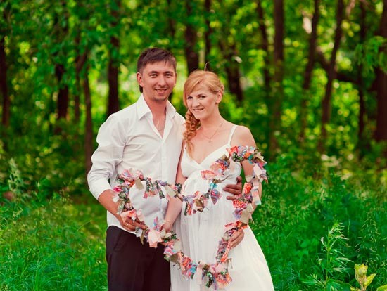 Сценарий первой годовщины свадьбы в семейном кругу