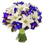 ирисы и лилии