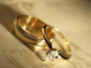 кольца мужа и жены
