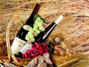 бутылки красного вина