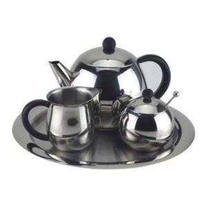 чайный набор из никеля