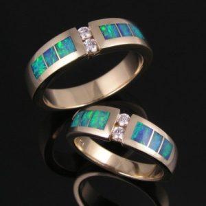 опаловые кольца