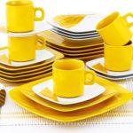 желтая посуда