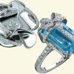 украшения с синим камнем
