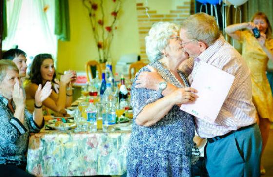 Сценарий с золотой свадьбы