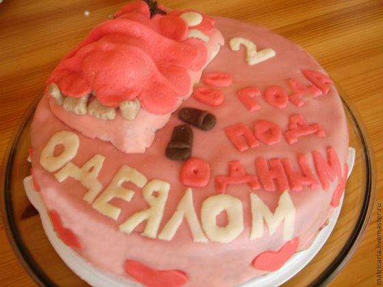 Торт на годовщины свадеб: советы по выбору оформления и надписи